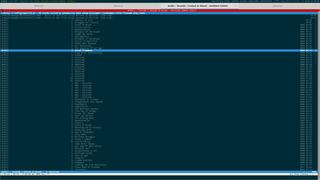 Screenshots of package cmus