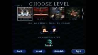 Screenshots of package openarena