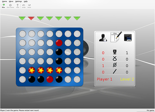 Screenshots of package kfourinline