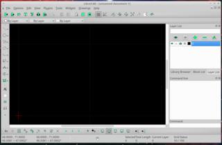 Screenshots of package librecad