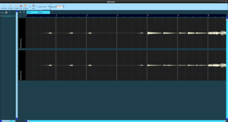 Screenshots of package gsequencer