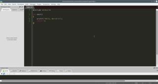 Screenshots of package codelite