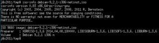 Screenshots of package libcdio-utils