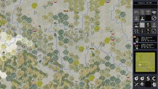 Screenshots of package lgeneral