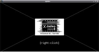 Screenshots of package xjadeo