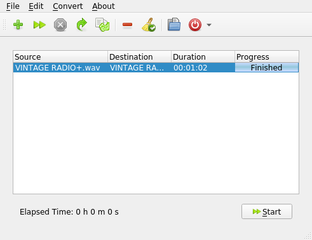 Screenshots of package qwinff