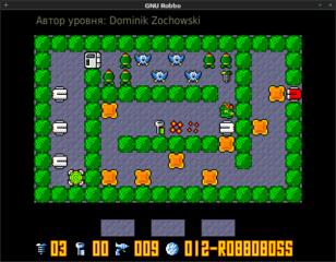 Screenshots of package gnurobbo