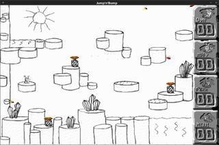 Screenshots of package jumpnbump