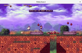 Screenshots of package pekka-kana-2