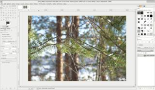 Screenshots of package gimp-ufraw