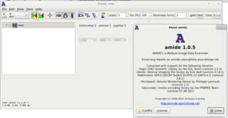 Screenshots of package amide
