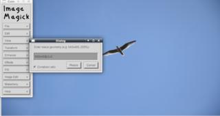 Screenshots of package imagemagick