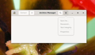 archive manager for GNOME