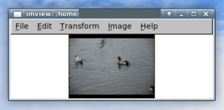 Screenshots of package imview
