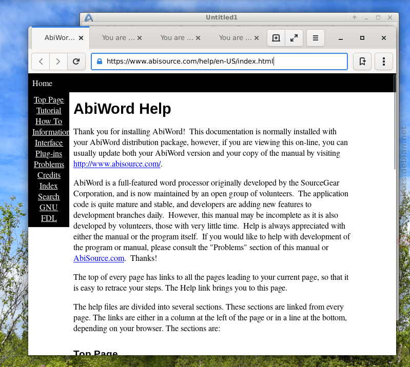 abiword pour windows 7