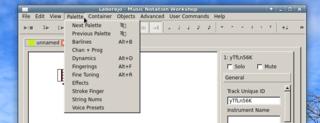 Screenshots of package laborejo