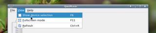 Screenshots of package qasmixer