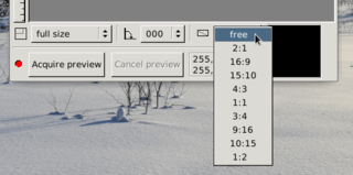 Screenshots of package xsane