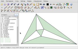 Screenshots of package carmetal