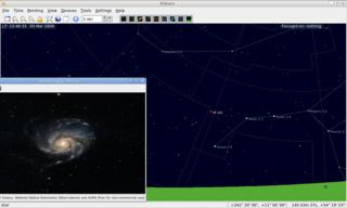 Screenshots of package kstars