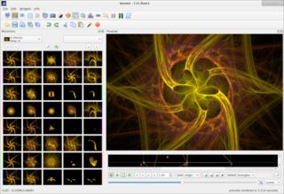 Screenshots of package qosmic