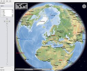 Screenshots of package marble