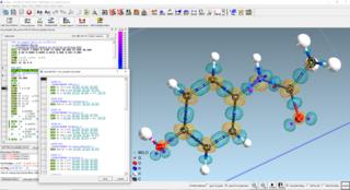 Screenshots of package shelxle
