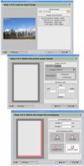 Screenshots of package posterazor