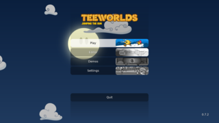 Screenshots of package teeworlds