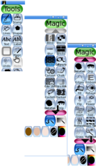 Screenshots of package tuxpaint