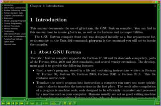 Screenshots of package xpdf