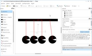 Screenshots of package step