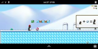 Screenshots of package supertux