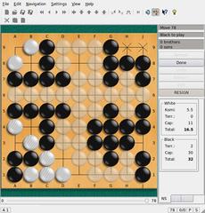 Screenshots of package qgo