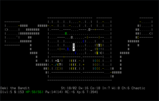Screenshots of package nethack-console