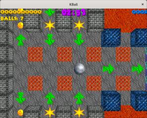 Screenshots of package kball