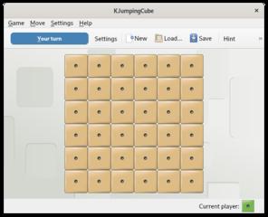 Screenshots of package kjumpingcube