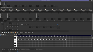 GSequencer piano roll editor