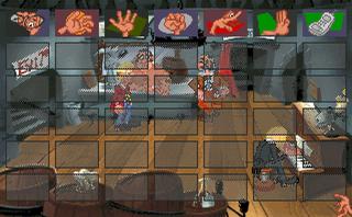 Screenshots of package drascula