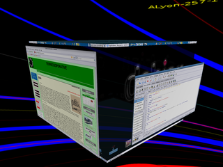 Screenshots of package compiz