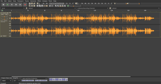 fast, cross-platform audio editor