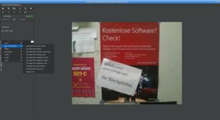Screenshots of package photoflow
