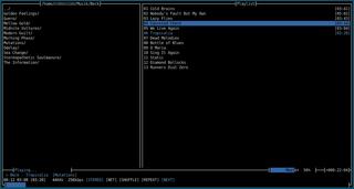 Screenshots of package moc