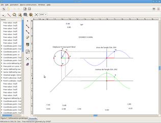 Screenshots of package drgeo
