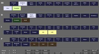 Screenshots of package aeolus