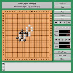 Screenshots of package cgoban