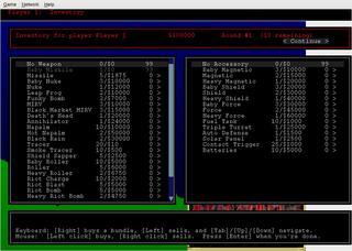 Screenshots of package xscorch