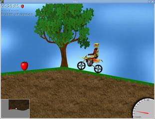 Screenshots of package xmoto