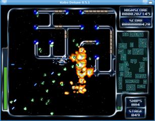 Screenshots of package kobodeluxe