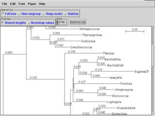 Screenshots of package njplot